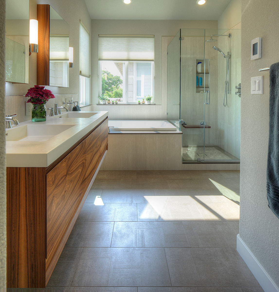 Upscale Bathroom Remodeling Trends East Bay California - Alameda - Simplicity and Zen - Custom Kitchens by John Wilkins
