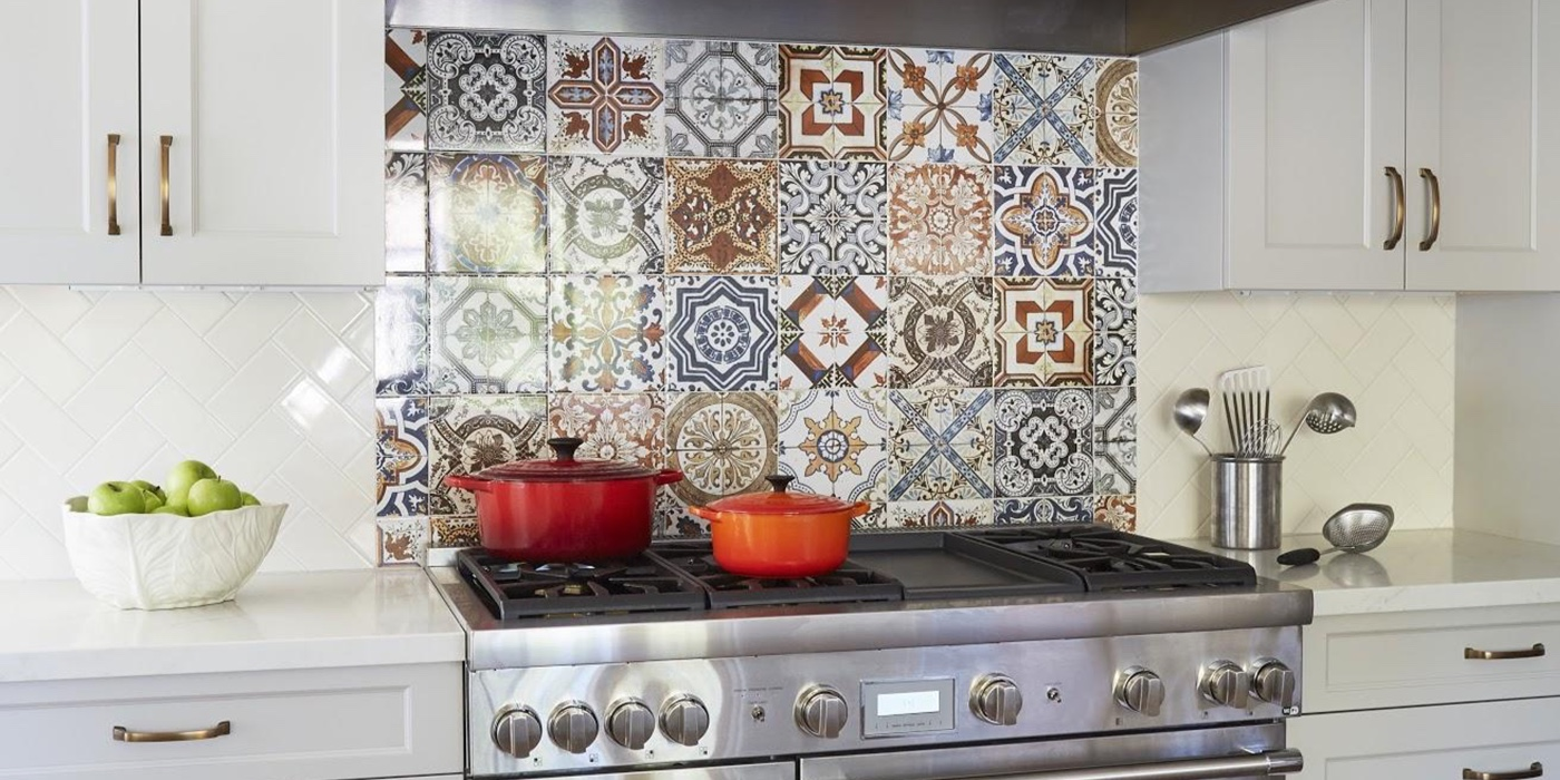 Upscale Kitchen Remodeling Trends for the East Bay Area: Transitional with Moroccan Tile: Custom Kitchens by John Wilkins