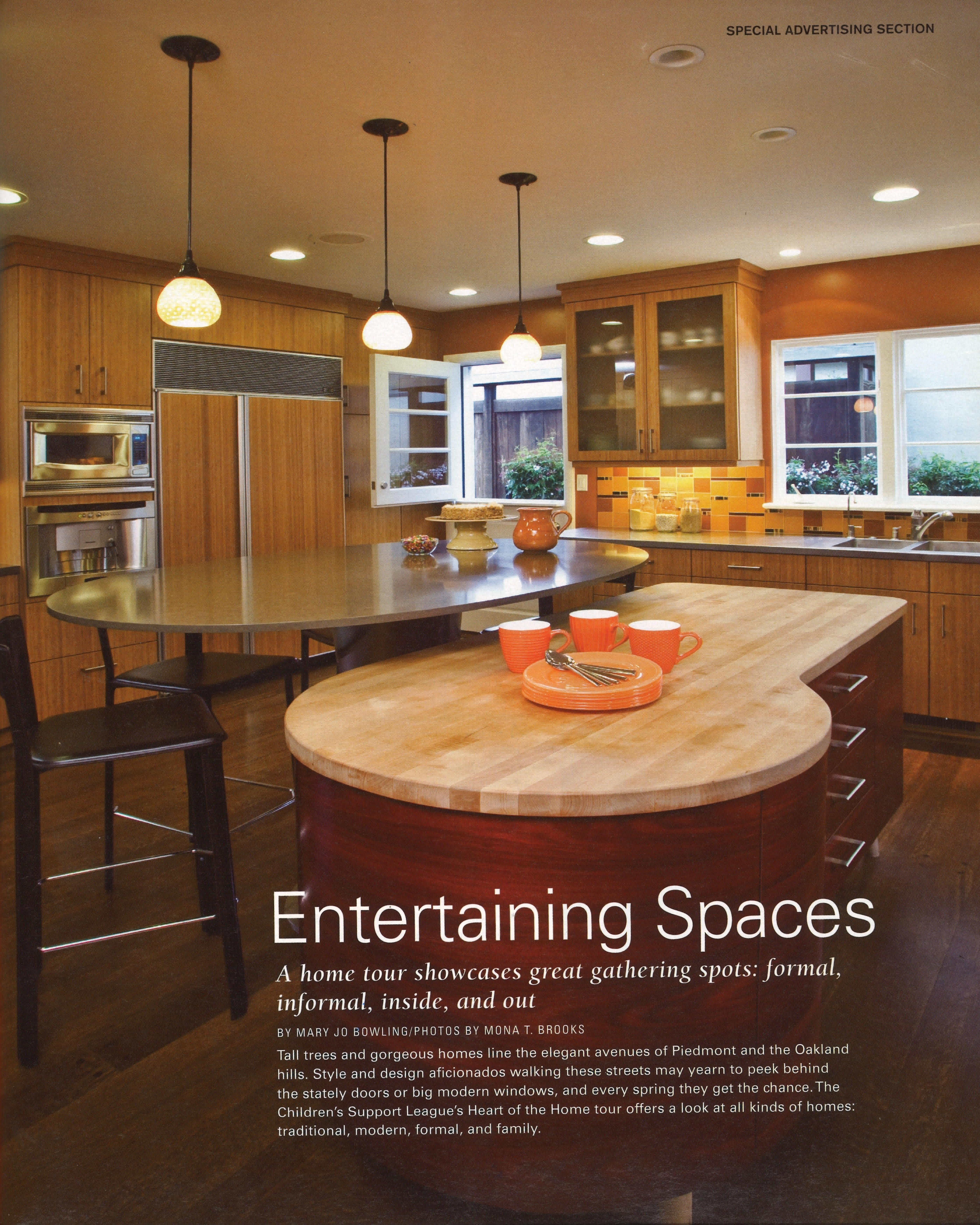 Custom kitchens by john wilkins - Sf Magazine